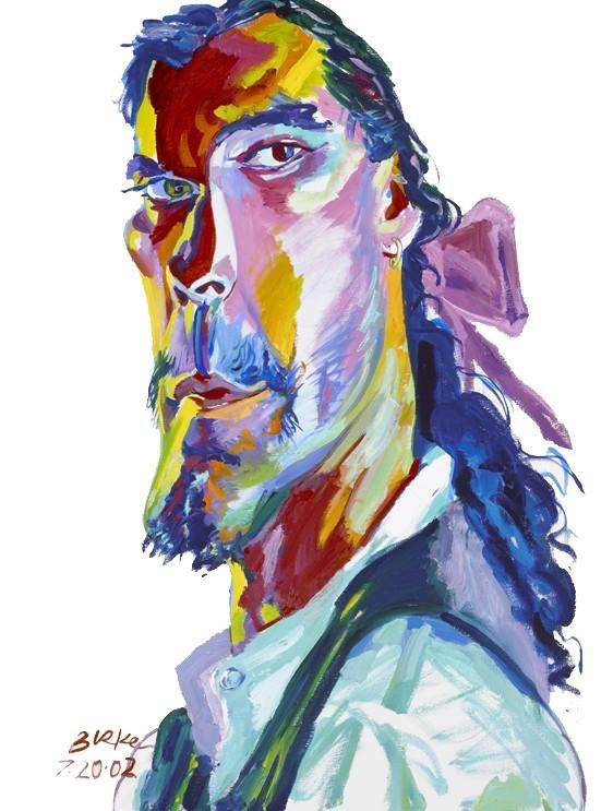 Philipe Burke self portrait